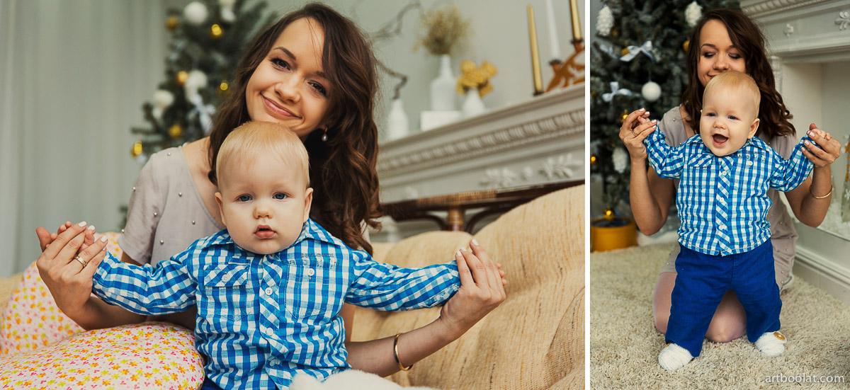 Студийная семейная и детская фотография