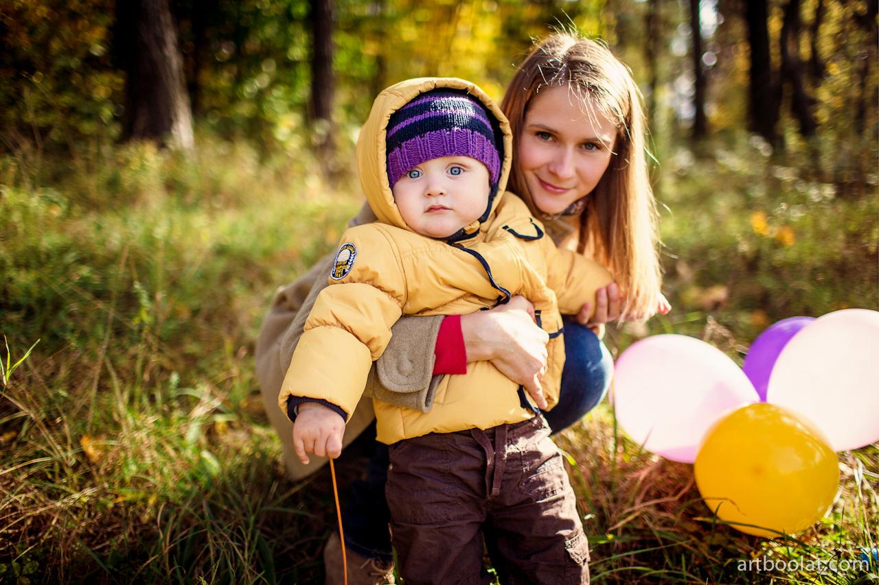 Фотосет мамы с сыном 10 фотография