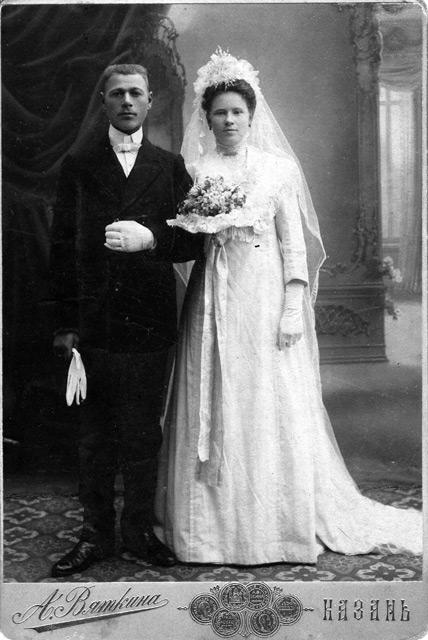 Ретро свадебные фотографии