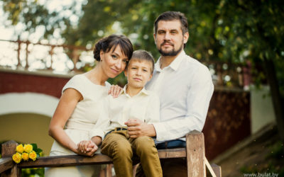 Стильная семья Лукашевичей