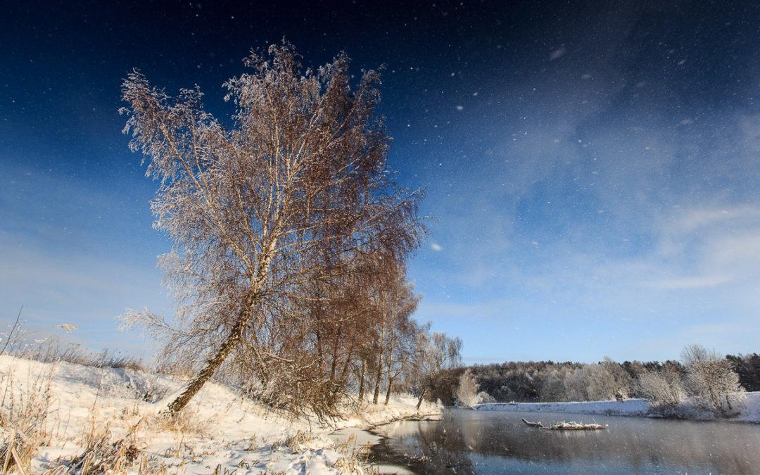 Зимние пейзажи!