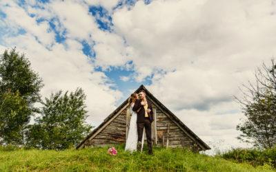 Свадьба Паши и Лены в деревенском стиле