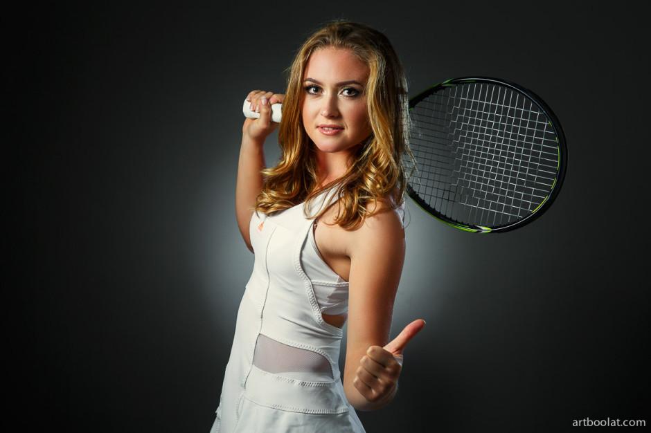 профессиональная студийная фотосессия  беларуской теннисистки александры саснович, студийный фотограф в минске, заказать студийную фотосессию
