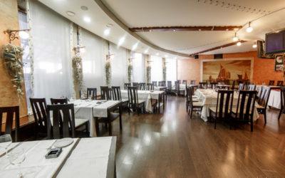Фотосъемка интерьеров ресторана Porto del Mare