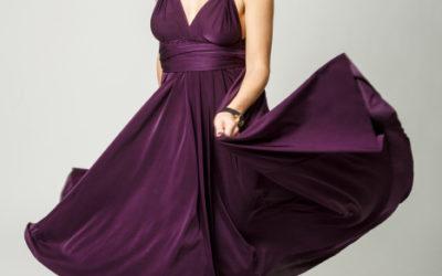 Рекламная фотосъемка платьев-трансформеров