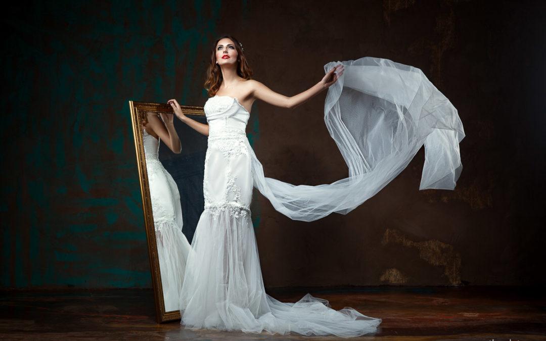 Съемка свадебных платьев Anna Delaria