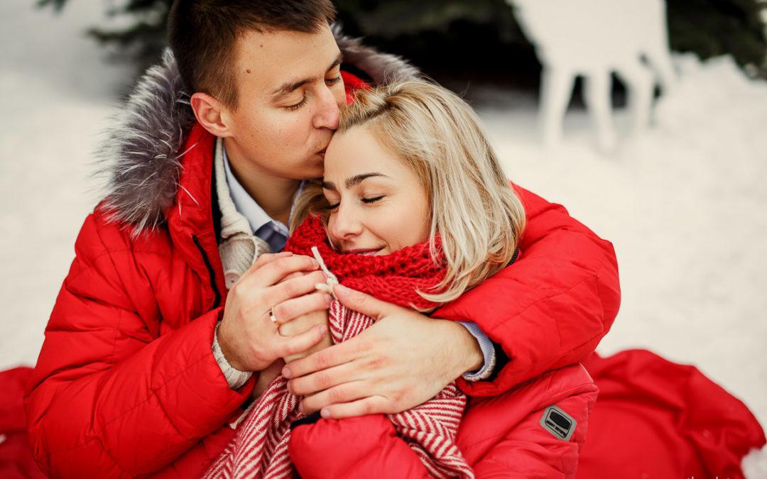 Зимняя свадьба Максима и Наташи