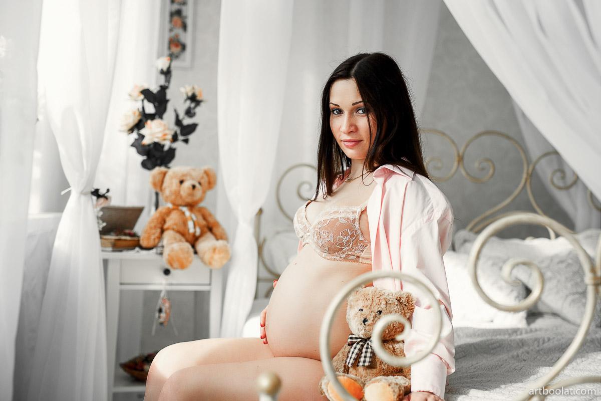 Фотосессия будущая мама студифная фотосъемка беременной в Минске