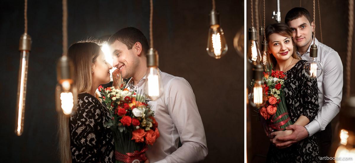 Стильная фотосъемка для двоих love story в студии Минск, заказать и смотреть примеры на сайте фотографа Булата Ягудина