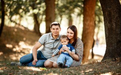 Семейная фотосессия в парке Минск