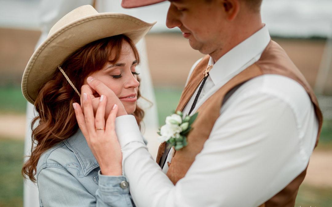 Ковбойская свадьба Саши и Оли